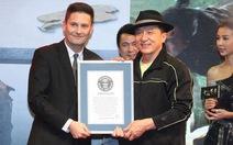 Thành Long lập 2 kỷ lục Guinness