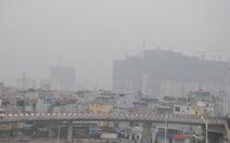 Sương mù bao phủ Hà Nội