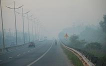 Sương mù mờ ảo ở vùng ven TP.HCM