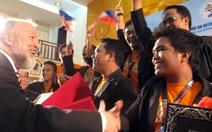 Đoàn Philippines đoạt giải đặc biệt hợp xướng quốc tế