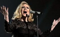 Adele: Âm nhạc là để nghe, không phải để nhìn