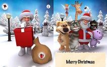 Ứng dụng Android vui cho mùa Giáng sinh
