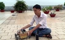 Robot trinh sát Việt phô diễn tài năng