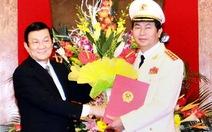 Bộ trưởng Trần Đại Quang được thăng hàm đại tướng