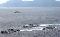 Trung Quốc đưa tàu chiến vào hạm đội tàu hải giám