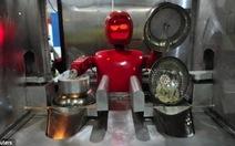 Ghé thăm nhà hàng Robot