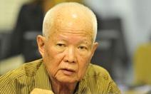 Cựu lãnh đạo Khmer Đỏ nhập viện khi đang ở tòa