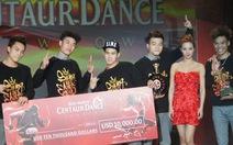 Việt Nam vô địch thi nhảy hiện đại ở Singapore