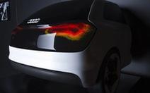 """Audi: đèn chiếu sáng """"hiểu ý"""" chủ xe"""