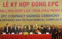 Ký tổng thầu EPC dự án liên hợp lọc hóa dầu Nghi Sơn 9 tỉ USD