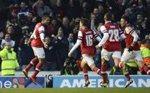 Arsenal thắng nghẹt thở Brighton