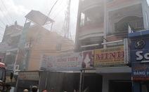 Tiền Giang: cháy chi nhánh kem Hồng Thúy
