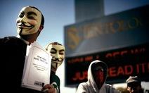 Anonymous công khai 14 GB dữ liệu ngân hàng Mỹ