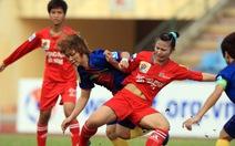 Nữ Phong Phú Hà Nam thắng trận mở màn