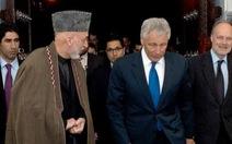 Afghanistan và Mỹ hủy họp báo chung