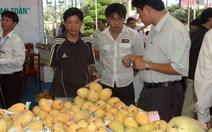 Nhiều loại trái cây Việt lên kệ siêu thị Nhật
