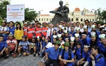 """520 bạn trẻ và VĐV đạp xe """"Về chiến khu Rừng Sác anh hùng"""""""