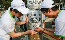 """200 bạn trẻ Quy Nhơn xắn tay """"Vì môi trường du lịch sạch"""""""