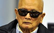 Thủ lĩnh Khmer Đỏ Noun Chea đủ sức khỏe để hầu tòa