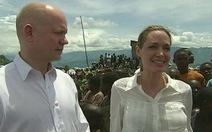 Angelina Jolie tham gia chiến dịch ngăn chặn hiếp dâm