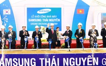 Samsung khởi công dự án 2 tỉ USD tại VN
