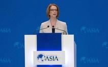 Thủ tướng Úc kêu gọi hợp tác vì ổn định châu Á