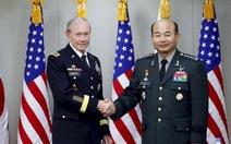 Cảnh giác Triều Tiên, hai tướng soái Mỹ - Hàn hoãn đi Washington