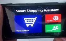 Ứng dụng di động hỗ trợ mua sắm thông minh