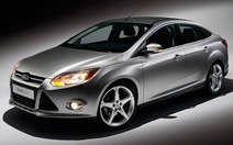 Ford Focus dẫn đầu tốp 10 xe bán chạy nhất năm 2012