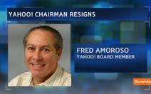 Chủ tịch hội đồng quản trị Yahoo! từ chức
