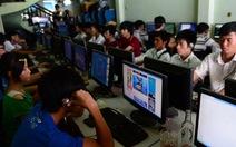 """Tràn lan game online """"chui"""""""