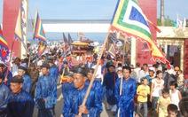 Hàng ngàn người dự Lễ khao lề thế lính Hoàng Sa