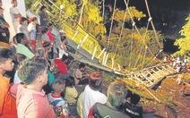 Sập cầu dây văng, 5 người chết, 45 người bị thương