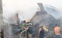 Cháy chợ Ngã Sáu, thiệt hại khoảng 3 tỉ đồng
