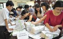 Miền Bắc: hồ sơ dự thi tuyển sinh ĐH, CĐ giảm mạnh