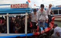 Lắp két chứa thải cho tàu du lịch vịnh Nha Trang