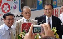 Đại sứ Nhật đi tàu lửa đến thăm Đà Nẵng