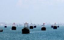 Trung Quốc xua tàu cá vào thềm lục địa Việt Nam