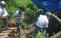 Sập hầm vàng ở núi Kẽm, 1 phu vàng tử nạn