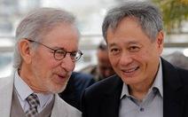 """Steven Spielberg, Lý An """"sùng bái"""" nhau tại Cannes"""