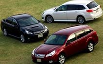 Subaru thu hồi hơn 5.300 xe lỗi bánh lái