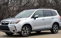 Subaru Forester - quyết liệt với thị trường SUV tầm trung
