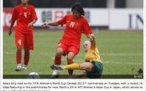 Tuyển nữ VN bắt đầu chiến dịch World Cup 2015