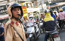 Huy động lực lượng chức năng điều tiết giao thông