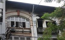 Cháy cơ sở massage nghi do chập điện