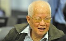 """Khieu Samphan: """"Tôi không có nhiều tội dưới thời Pol Pot"""""""