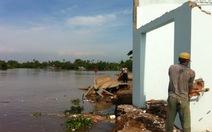 Lại sạt lở ở Đồng bằng sông Cửu Long