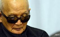 Thủ lĩnh số 2 của Khmer Đỏ thừa nhận trách nhiệm