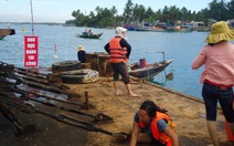 Dân lại cản trở dự án nạo vét luồng vào cảng Kỳ Hà