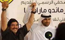 Maradona chính thức nhận nhiệm vụ ở Al Wasl